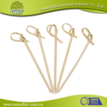 High quality bulk bamboo knot skewers with SGS