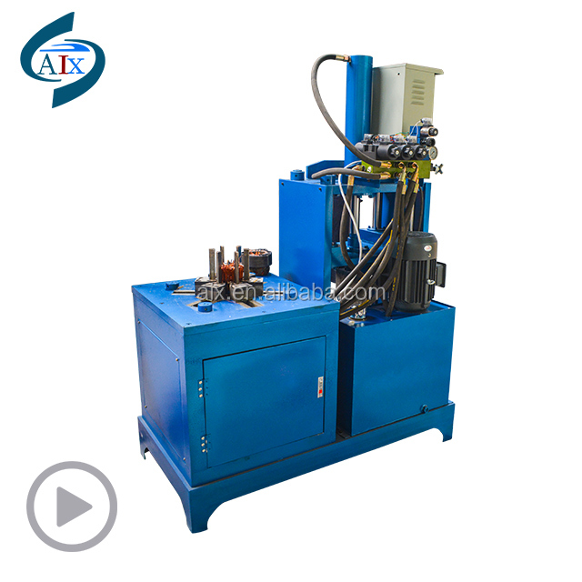 High quality scrap motor stator rotor cutting machine for pulling copper