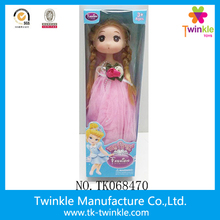 2017 lovely 9 inch mini princess girl toys doll