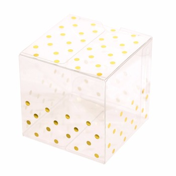 GC001001 Clear packaging gift PVC box