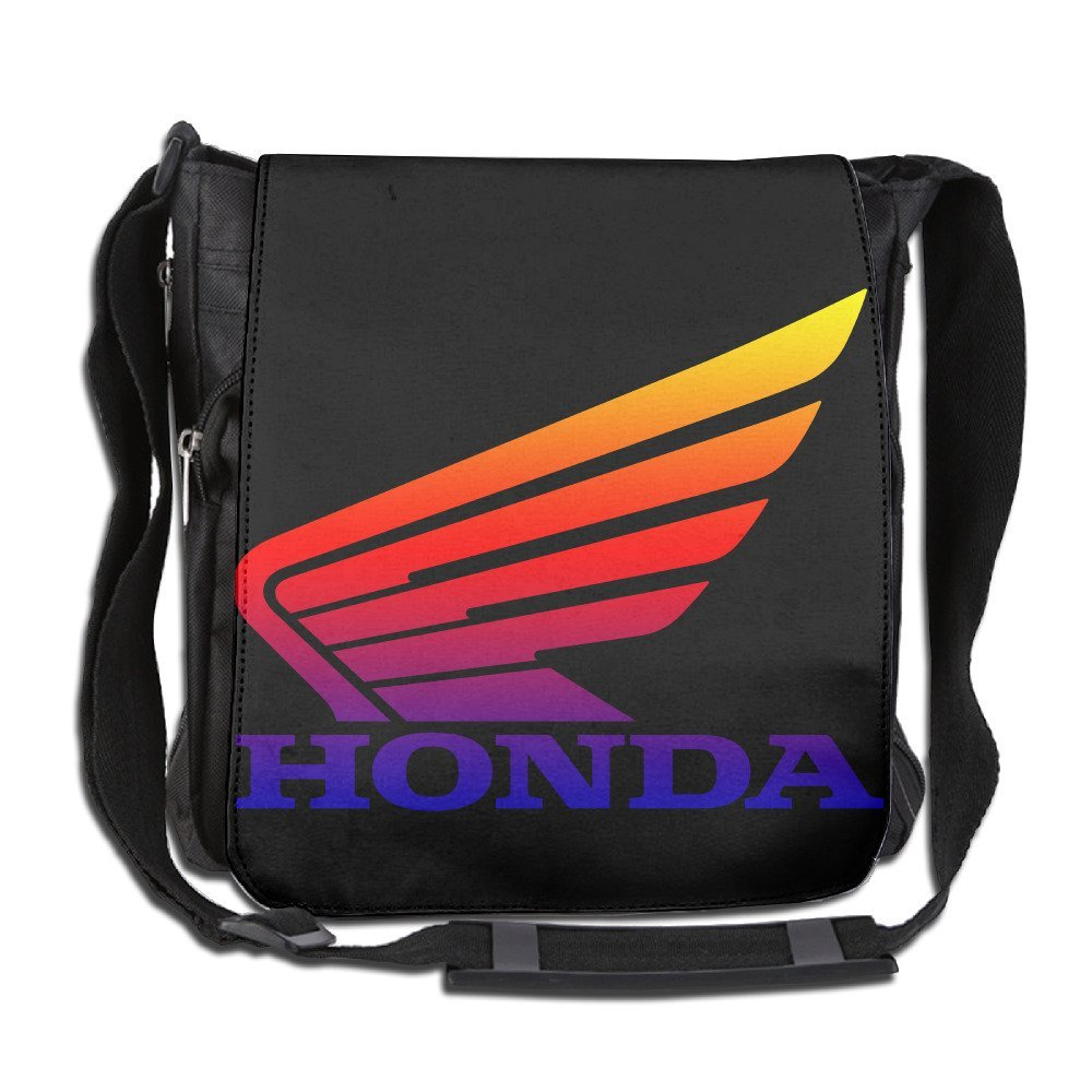 aa36c7fc8f9f Get Quotations · HONDA LOGO Sports Shoulder Backpack Travel Bag Cross Body