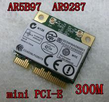 Network Card for Atheros AR9287 AR5B97 802.11b/g/n Half Wifi Pci-e 300Mbps