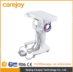 Popular good quality cheap price dental portable unitdental mobile carts dental mobile therapy instrument