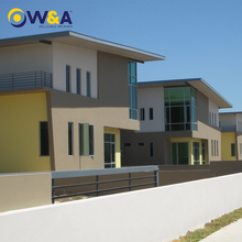 (WA-M211)Luxury Prefabricated Steel Structure House,Modular Villa