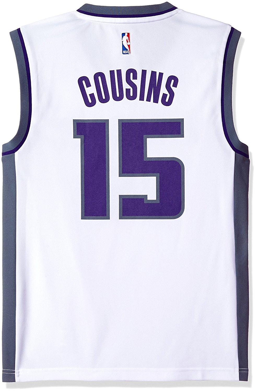 outlet store ea263 a16bb Buy NBA Sacramento Kings DeMarcus Cousins #15 Mens Replica ...