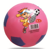 5 Inch Toy Soccer Ball and Basketball with Sticker