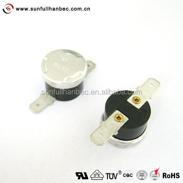HB-2 Snap Action bimetal thermostat Thermal switch