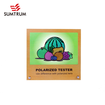 94c6fae8748 Polarized Test Picture Rainbow Tester With Mdf Display -b07 Fruits ...