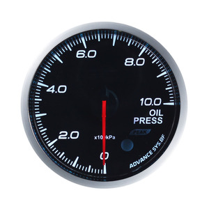 "Defi Advance BF 2.5"" 60mm Auto Gauge 7 Color Oil Press Oil Pressure Gauge Meter"