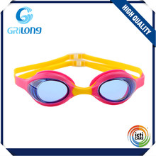 Latest product special design silicone swim goggle for kids trendy style