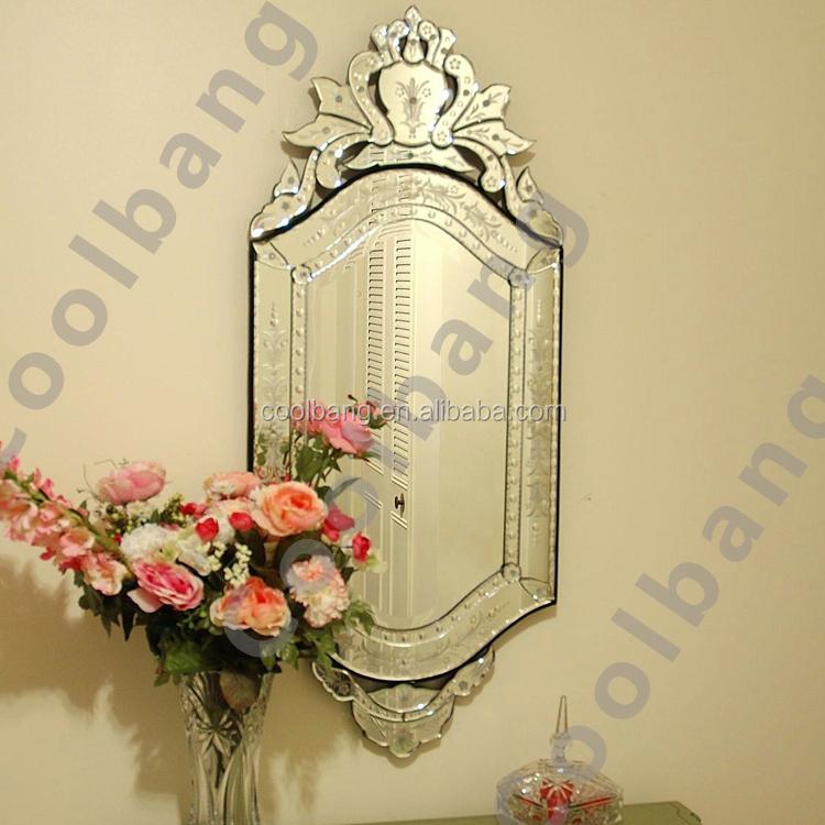 Coolbang cbm098 47 x 20 clear venetiaanse art deco spiegels muur decor product id 60434342498 - Deco originele muur ...