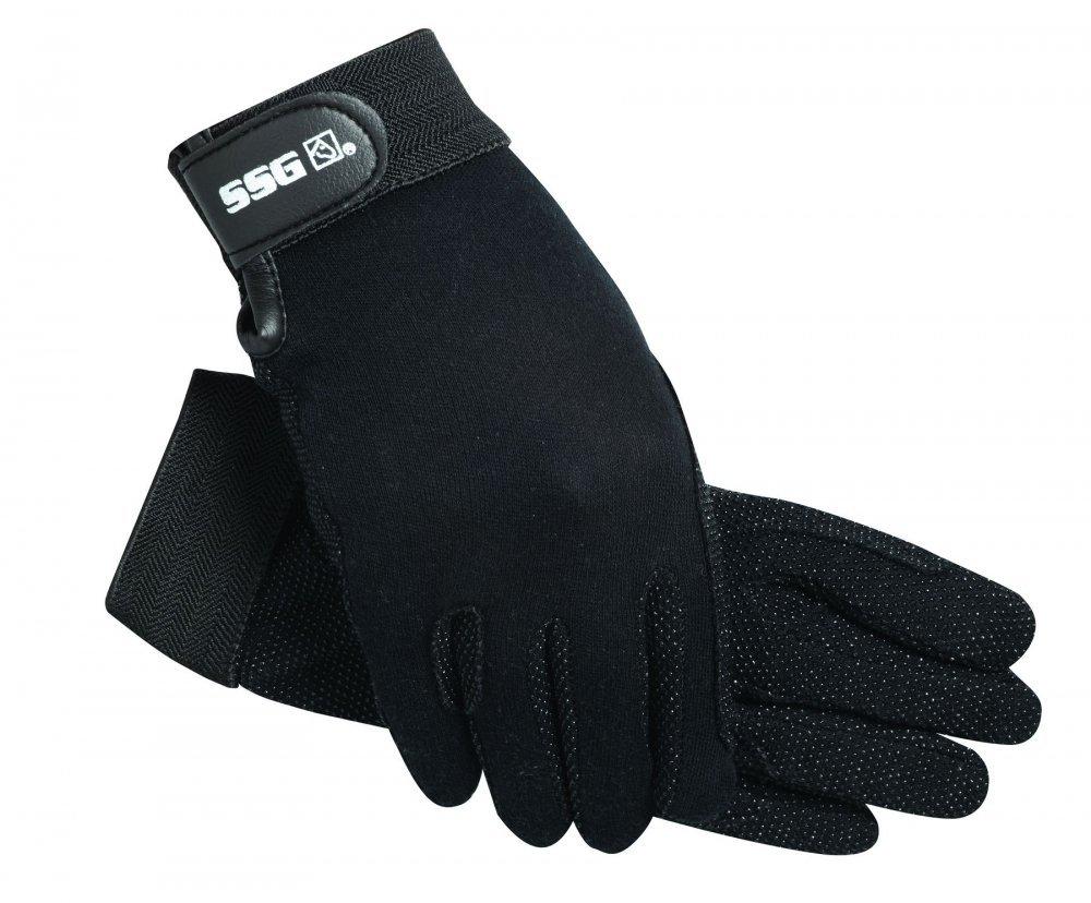 SSG Velcro Wrist Gripper Gloves 7 Brown