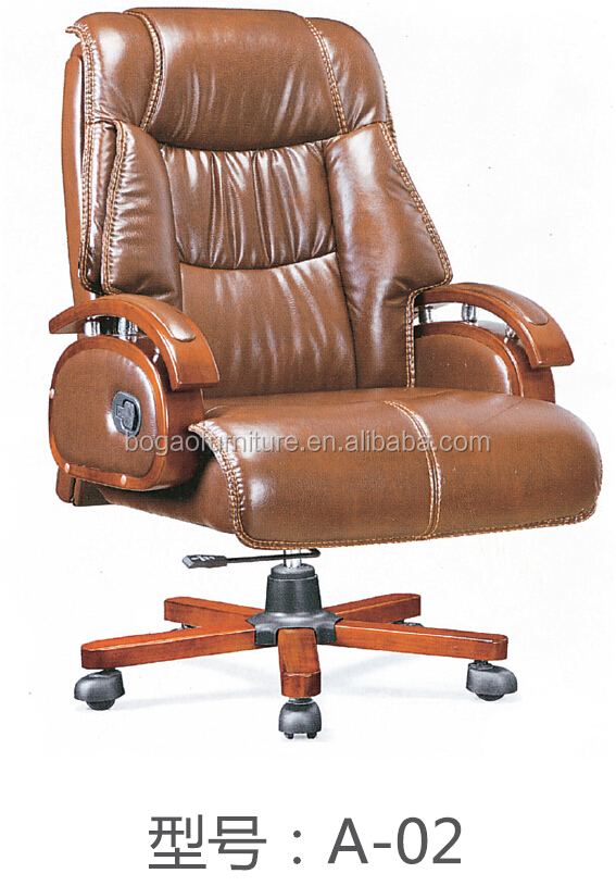 2017 hot sale fashion strong leather executive office chair A02