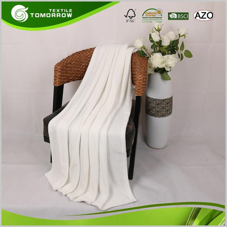 Good quality professional hotel super soft coral fleece warm blankets for winter