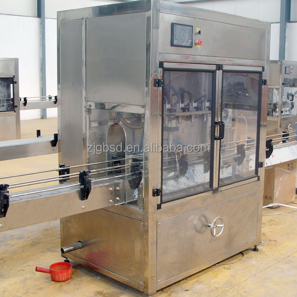 Automatic salsa sauce filling machine with capper head