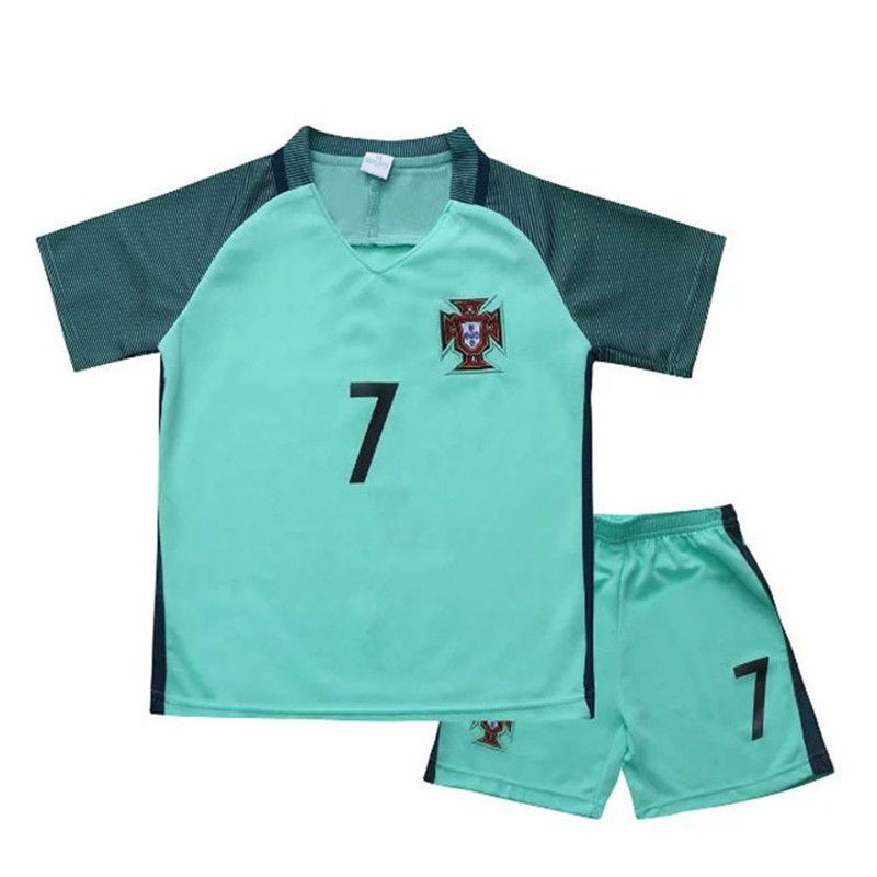 OEM children football sportswear uniforms wholesale short sleeve full sublimation custom soccer jersey kids