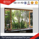 Luxury wooden design Bifold window Kitchen room windows