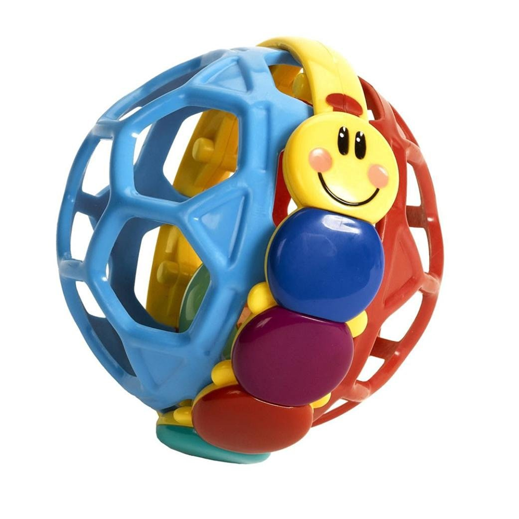 LandFox Toy,Baby Pliable Ball Grasping The Ball Exquisite Ball Toy