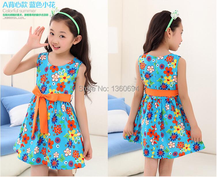 8baef8181 vestidos casuales 2014 para niñas 1