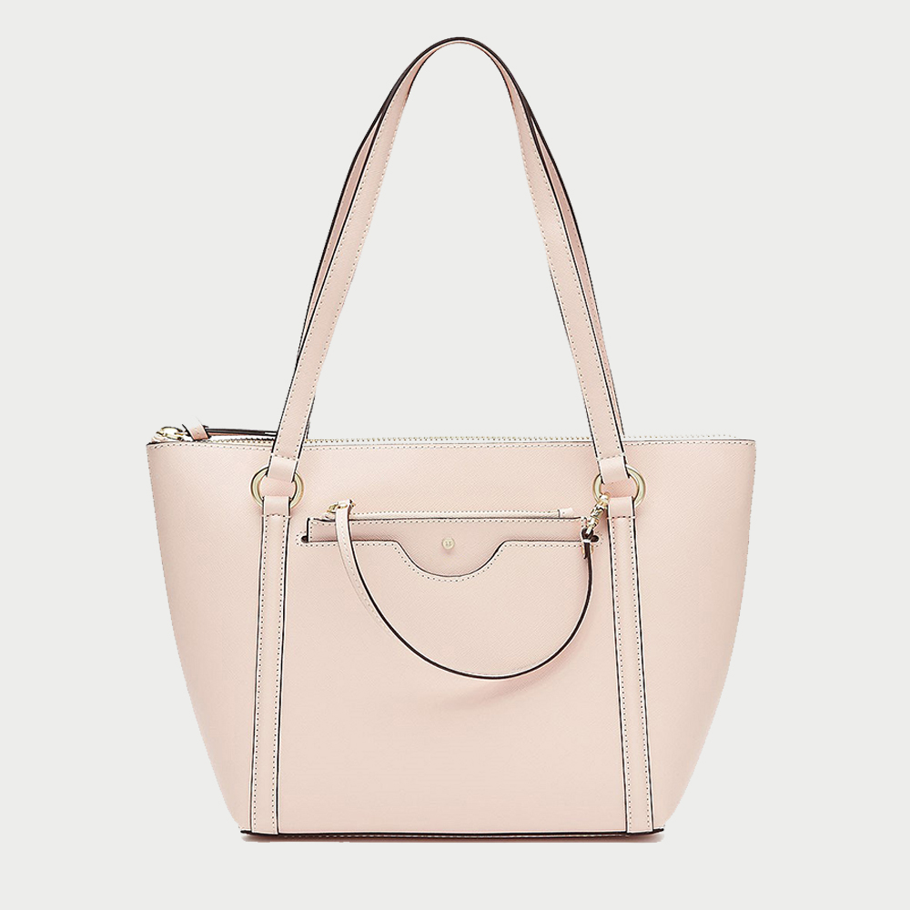 Mimco new trend fashion casual shoulder long strap handle korean euro personalized women lady stylish leather bag in tote bag