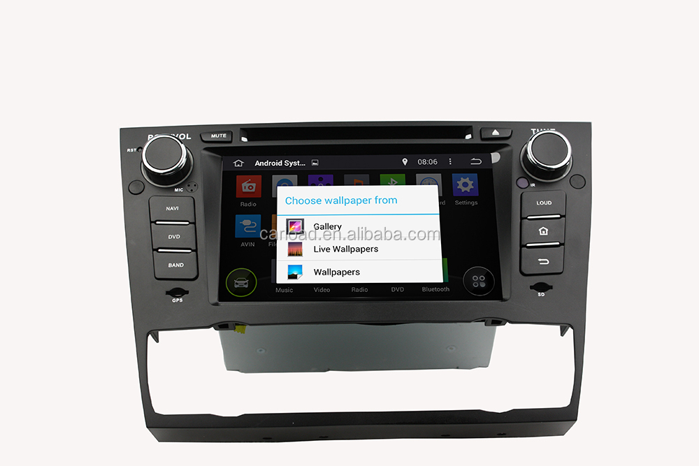 Android 4.4.4 GPS for BMW E90 Car DVD GPS Navigation Stereo WIFI