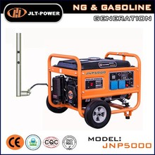 Hot!Home use portable air cooled small natural gas generator set 3kw price