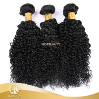 2017 New Arrival 8A sixe girl India Cambodian raw hair unprocessed kinky curl clip in hair extensions weaving hotbeauty