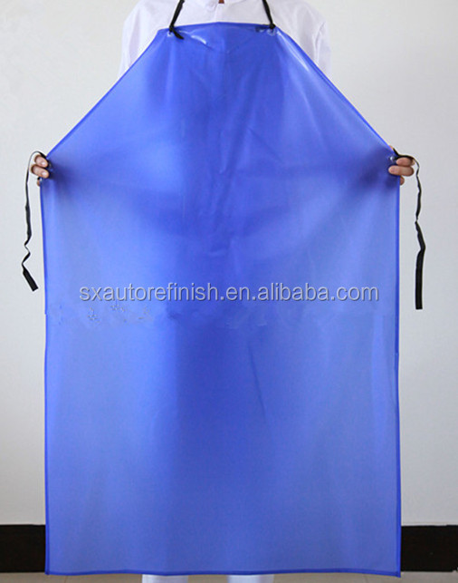 Waterproof labor protection industrial washable pvc safety construction work apron for men