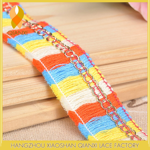 fashion Chain yarn lace garment accessories tassel fringe
