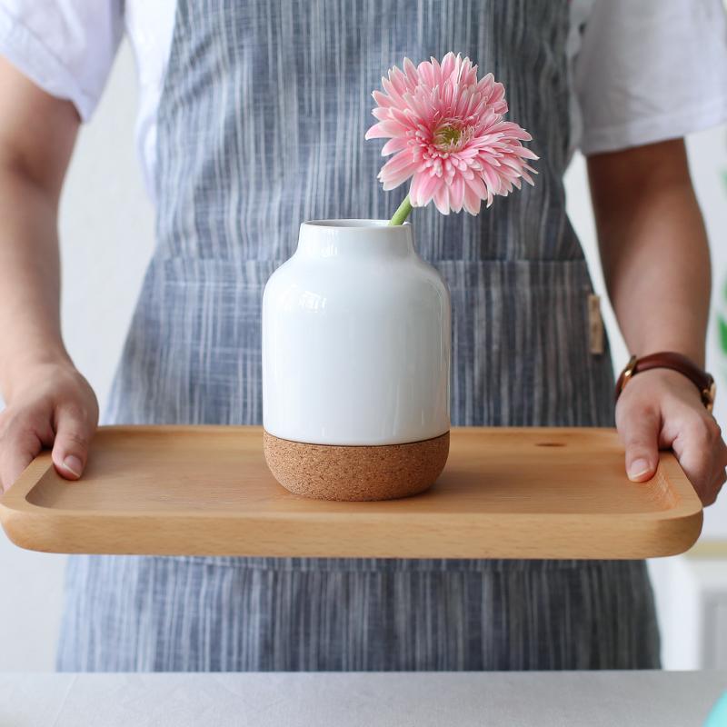 Casa jardim casa decor modern cer mica vaso base de corti a buy cork base de vaso vaso de - Oggettistica per la casa moderna ...