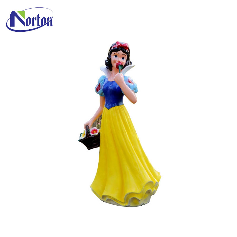 Garden decoration crafts life size resin snow white and the seven dwarfs NT-FS280B