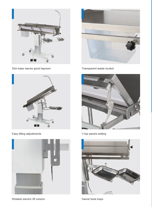 New Universal V -top Surgery Table