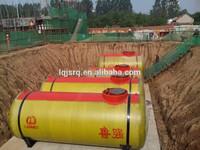 Double wall glass fiber reinforced plastics underground diesel fuel storage tank