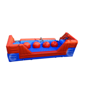Hot selling inflatable leaps n bounds obstacle course game inflatable wipeout for sale