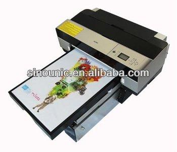 a1de5421b Hot sale A4 size DTG printer, direct to garment printer, t shirt printing  machine