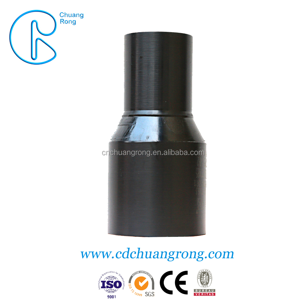 HDPE water tap pipe fittings reducer