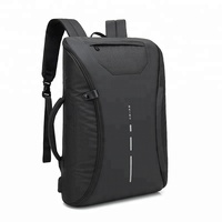 Custom Laptop Trekking Bags Anti Theft Usb Backpack