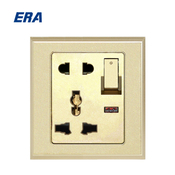 electric 2 pin and 3 pin multi socket with wall switch pakistan