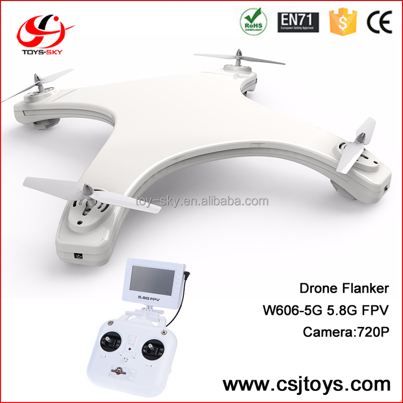 China 2016 new products multicopter Auto Take off & landing RC Quadcopter drones Control camera by Transmitter
