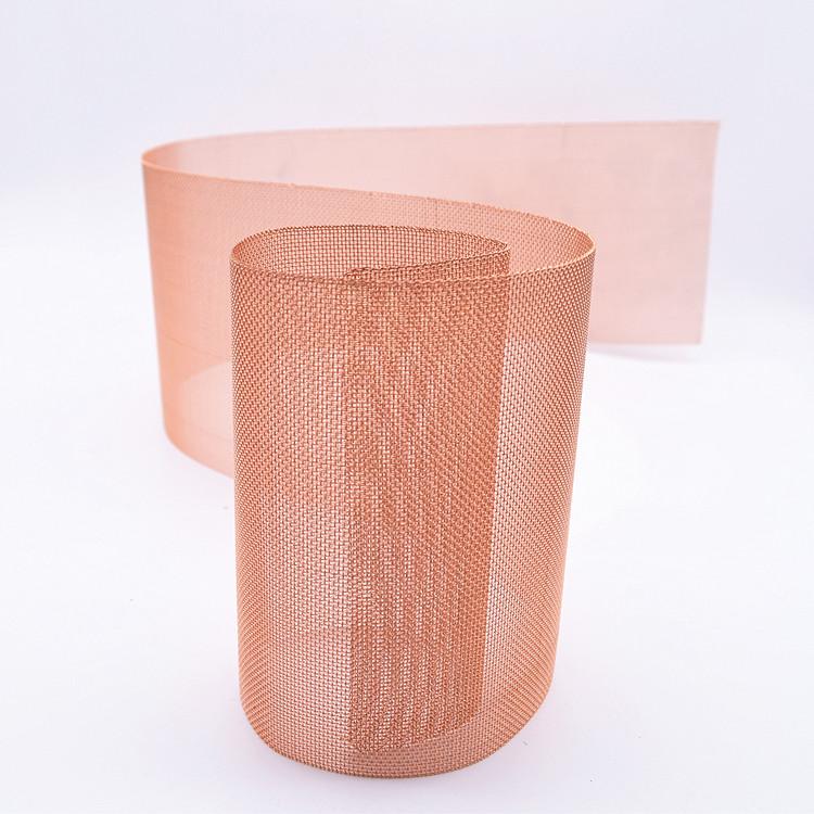 Pure copper ultra fine copper wire mesh