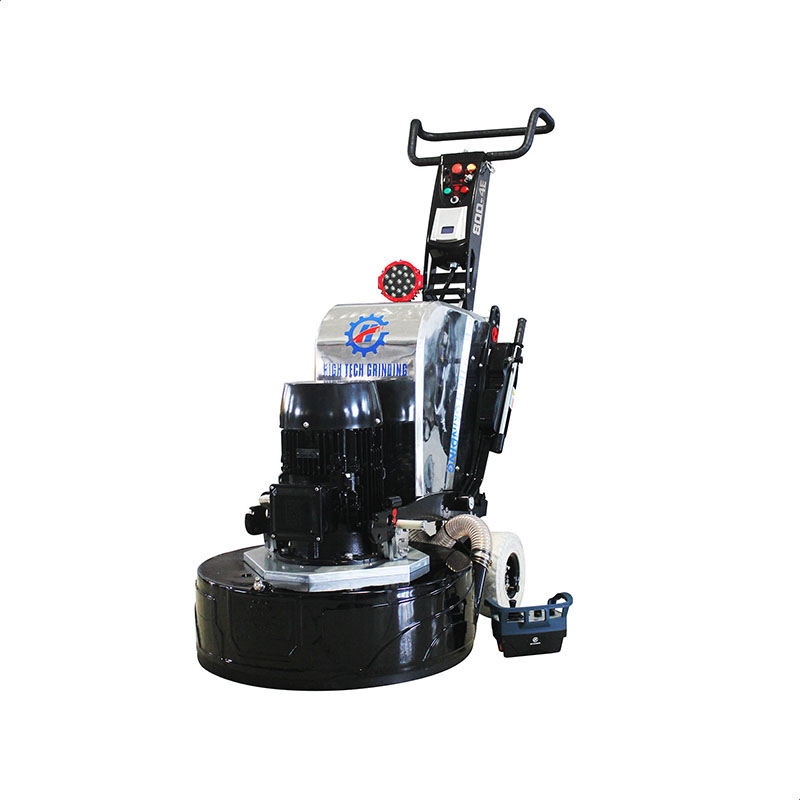 effective remote control grinder HTG 800-4E concrete grinder and polishing machine