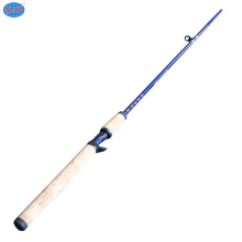 Comfortable handle 2.7m long fiberglass fishing rod