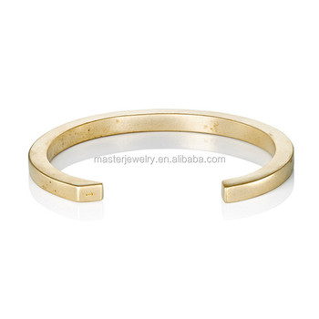 Ourania Jewelry Men Cuff Wedding Thick Gold Bracelet Mens Product