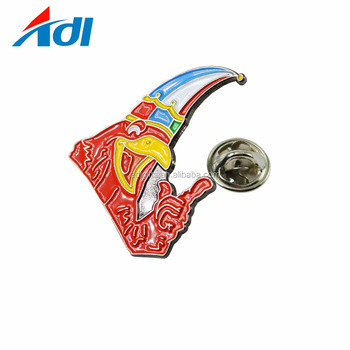 Wholesale manufacturers china custom soft enamel metal lapel pin badge