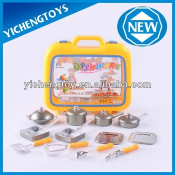Kitchen Set For Kids Stainless Steel Kitchen Set Toy Buy Stainless