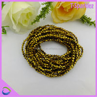 China Sparkling Bright 2mm Glass Beads For Cloth In Guangzhou