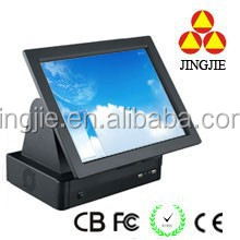 Low price Dual core pos touch all in one machine for gas station/bank pos system