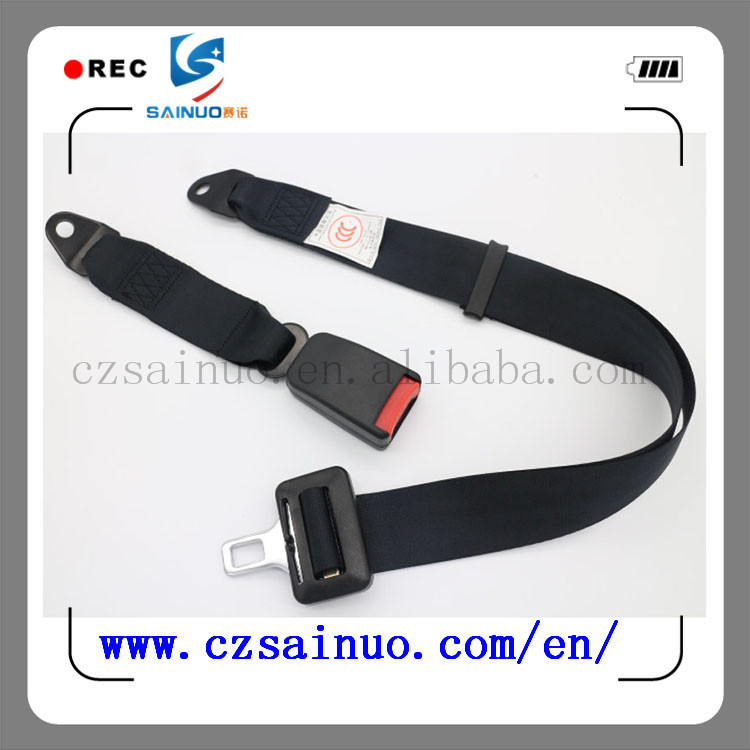 Hot selling 2 point car back row seat belt used for bus and other Vehicles