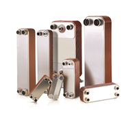 B3-012 stainless steel 304 brazed plate heat exchanger