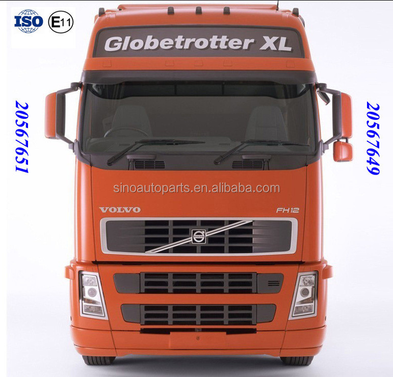 TRUCK AUTO REARVIEW MIRROR CAR SIDE MIRROR OEM 20567649 20567651 20455981 20455982 FOR VOLVO FH12 FM TRUCK MIRROR ASSY
